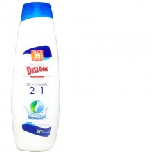 GEL + CHAMPÚ  DISLOM         1.250 L  2 IN 1